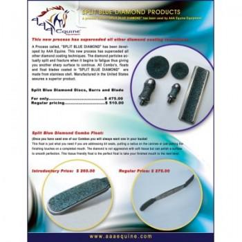 Split Blue Diamond Package